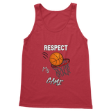 Respect My Game Classic Women's Tank Top