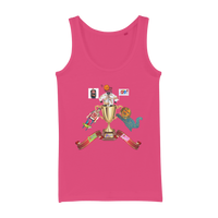 Lago Boys Coat of Arms Organic Jersey Womens Tank Top