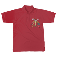 Lago Boys Coat of Arms Classic Adult Polo Shirt