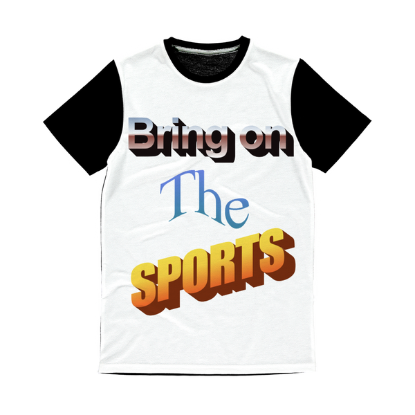 Bring On The Sports Classic Sublimation Panel T-Shirt