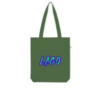 ELECTRIC NEON LAGO Organic Tote Bag