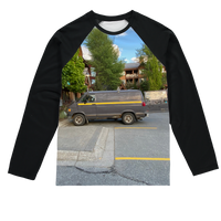 Camouflaged Van In Its Natural Setting Sublimation Baseball Long Sleeve T-Shirt