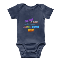 I'm Just a Dad On The Internet Having A Great Time Classic Baby Onesie Bodysuit