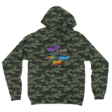 I'm Just a Dad On The Internet Having A Great Time Camouflage Adult Hoodie