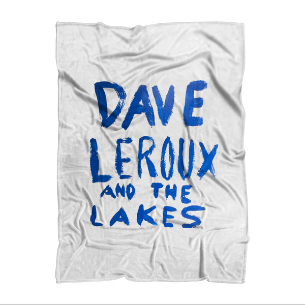 Dave Leroux And The Lakes Sublimation Throw Blanket