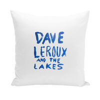 Dave Leroux And The Lakes Throw Pillows
