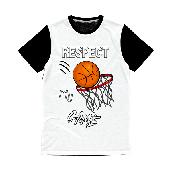 Respect My Game Classic Sublimation Panel T-Shirt