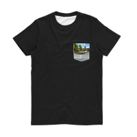 Camouflaged Van In Its Natural Setting Classic Sublimation Pocket T-Shirt