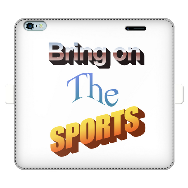 Bring On The Sports Fully Printed Wallet Cases