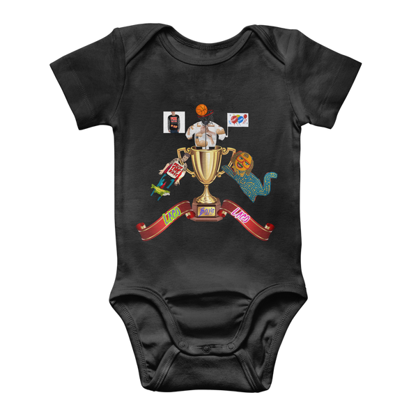 Lago Boys Coat of Arms Classic Baby Onesie Bodysuit