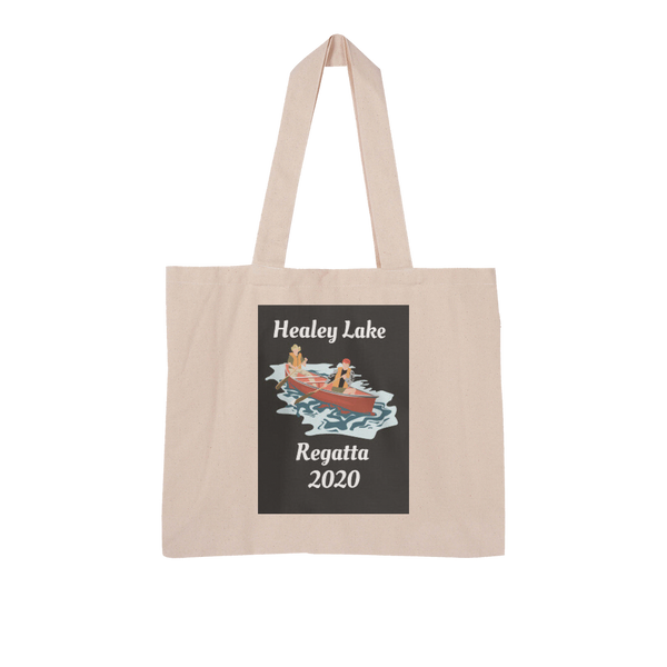 Healey Lake Regatta 2020 Large Organic Tote Bag