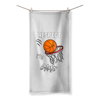 Respect My Game Sublimation All Over Towel