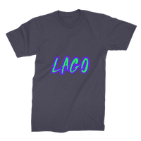 ELECTRIC NEON LAGO Premium Jersey Men's T-Shirt