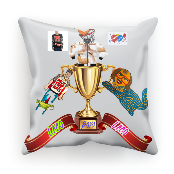 Lago Boys Coat of Arms Sublimation Cushion Cover