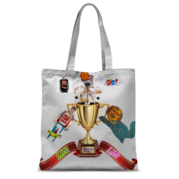 Lago Boys Coat of Arms Classic Sublimation Tote Bag