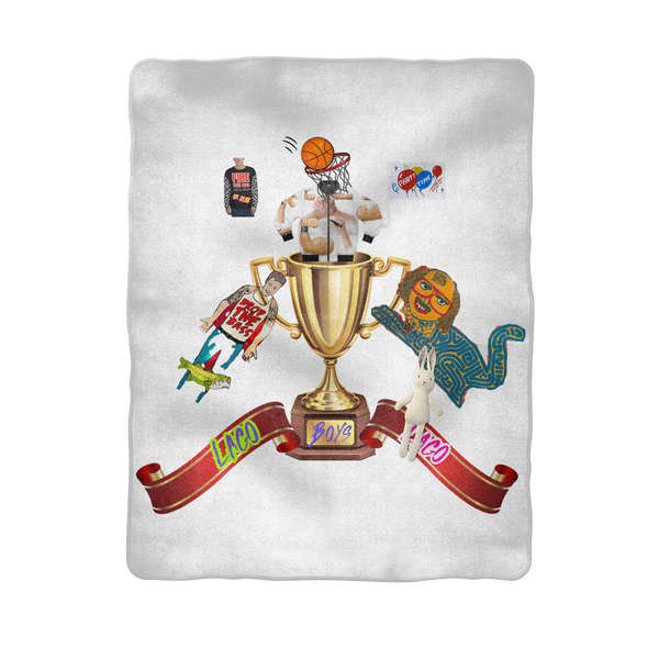 Lago Boys Coat of Arms Sublimation Baby Blanket
