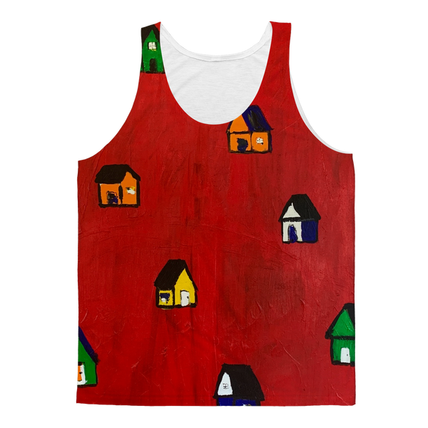 Mom's Houses Classic Sublimation Adult Tank Top