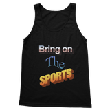 Bring On The Sports Classic Adult Vest Top