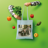 Bike Life in the Year 2020 Shopper Tote Bag