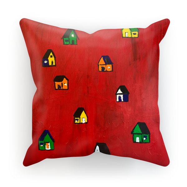 Mom's Houses Sublimation Cushion Cover