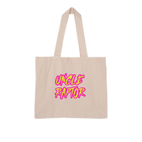 Uncle Raptor Large Organic Tote Bag