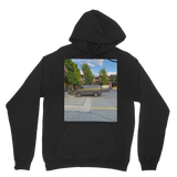 Camouflaged Van In Its Natural Setting Classic Adult Hoodie