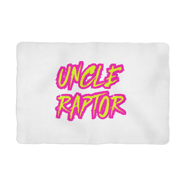 Uncle Raptor Sublimation Pet Blanket