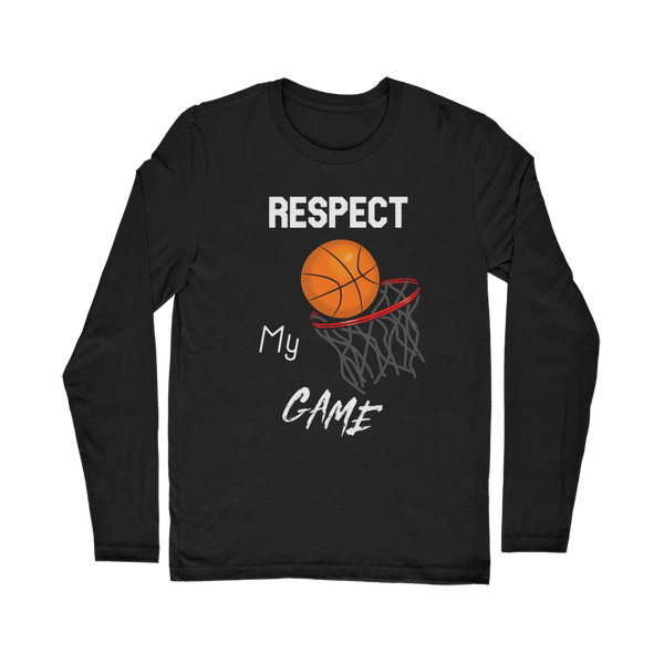 Respect My Game Classic Long Sleeve T-Shirt