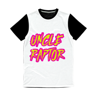 Uncle Raptor Classic Sublimation Panel T-Shirt