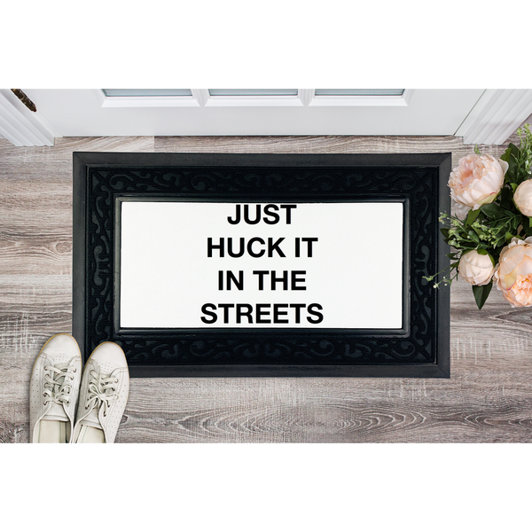 huck it Sublimation Heavy Duty Door Mat