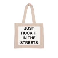 huck it Large Organic Tote Bag