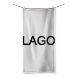 LAGO BLACK Sublimation All Over Towel