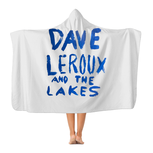 Dave Leroux And The Lakes Premium Adult Hooded Blanket
