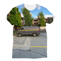 Camouflaged Van In Its Natural Setting Classic Sublimation Women's T-Shirt