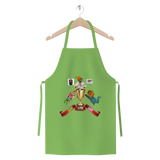 Lago Boys Coat of Arms Premium Jersey Apron