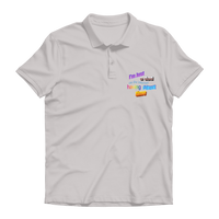 I'm Just a Dad On The Internet Having A Great Time Premium Adult Polo Shirt