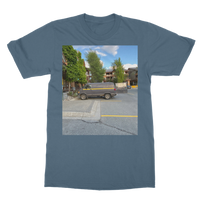 Camouflaged Van In Its Natural Setting Classic Adult T-Shirt Printed in UK