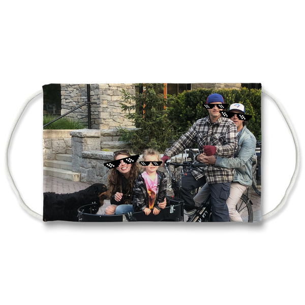Bike Life in the Year 2020 Sublimation Face Mask