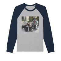 Bike Life in the Year 2020 Organic Raglan Long Sleeve Shirt