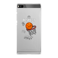 Respect My Game Back Printed Transparent Hard Phone Case