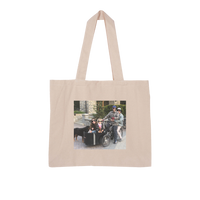 Bike Life in the Year 2020 Large Organic Tote Bag
