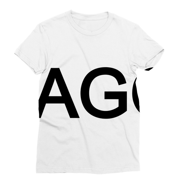 LAGO BLACK Classic Sublimation Women's T-Shirt