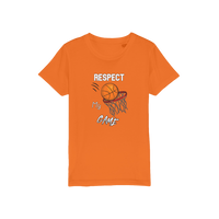 Respect My Game Organic Jersey Kids T-Shirt