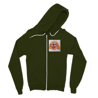 Saul Mancell Classic Adult Zip Hoodie