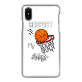 Respect My Game Fully Printed Matte Phone Case