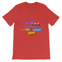 I'm Just a Dad On The Internet Having A Great Time Premium Kids T-Shirt