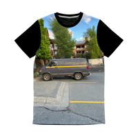 Camouflaged Van In Its Natural Setting Classic Sublimation Panel T-Shirt