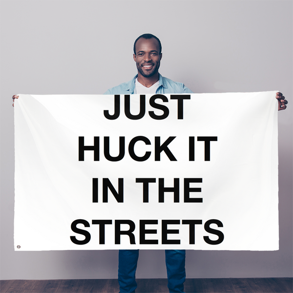huck it Sublimation Flag