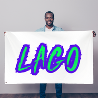 ELECTRIC NEON LAGO Sublimation Flag