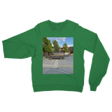 Camouflaged Van In Its Natural Setting Classic Adult Sweatshirt